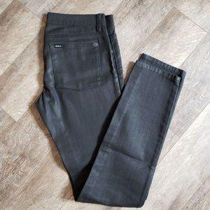 RVCA Balance of Opposites Skinny Black Jeans 29